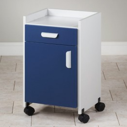 mobilier medical cu role din material plastic
