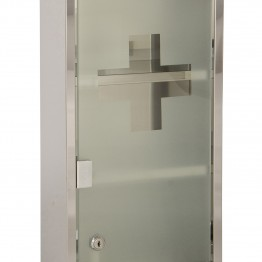 mobilier medical suspendat cu usa din sticla