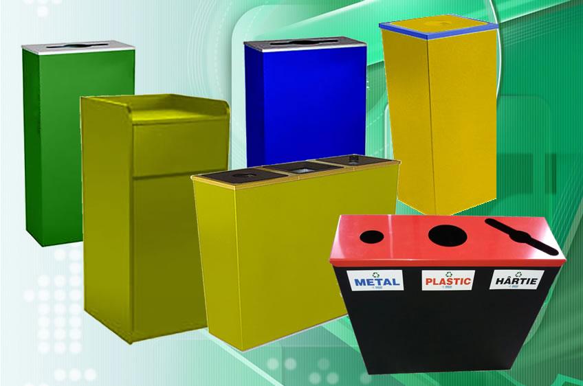 Pubele de reciclare din plastic